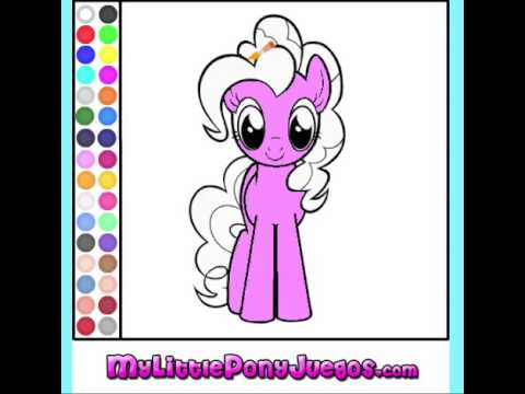 Juego Colorear Pinkie Pie My Little Pony - YouTube
