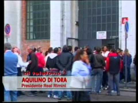 PRESIDENTE REAL RIMINI DI TORA INTERVISTATO A BAR SPORT mpg