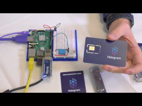 Getting Started with Hologram Cellular IoT Nova and RaspberryPi