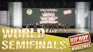 Kana-Boon! - Japan Varsity Division at Hip Hop International's 2017 World Hip Hop Dance Championship Semifinals, held at Arizona Grand Resort & Spa in ...