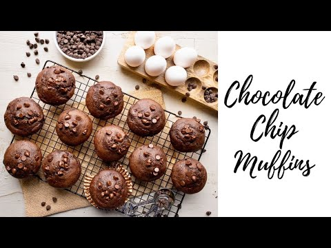 How To Make Double Chocolate Chip Muffins At Home