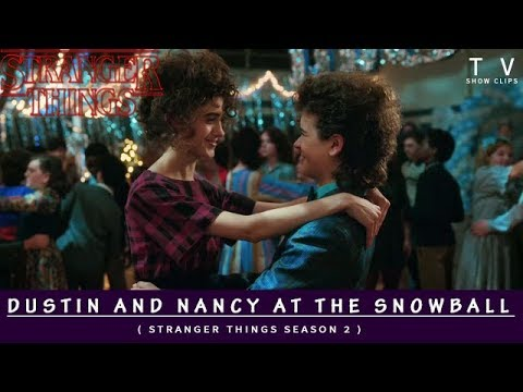 Dustin Gets Crushed At The Snowball (Stranger Things 2 )
