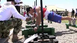 Fuerzas Comando - Special Forces Skills Competition, Physical Fitness Test