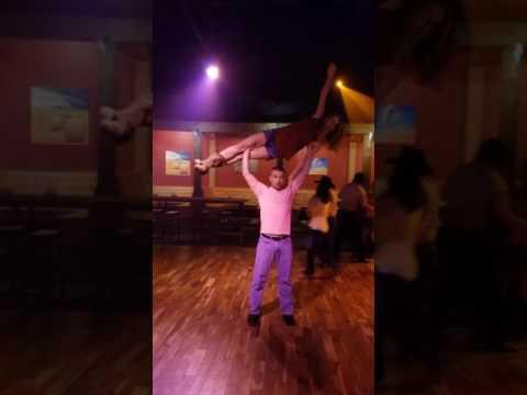 Country Swing Dancing W/ Adam & Jordan - Lifts, Tricks, Flips, Dips, & Aerials