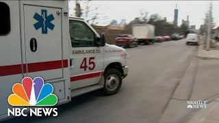 Hospitals Strained As ICUs Reach Capacity   NBC Nightly News