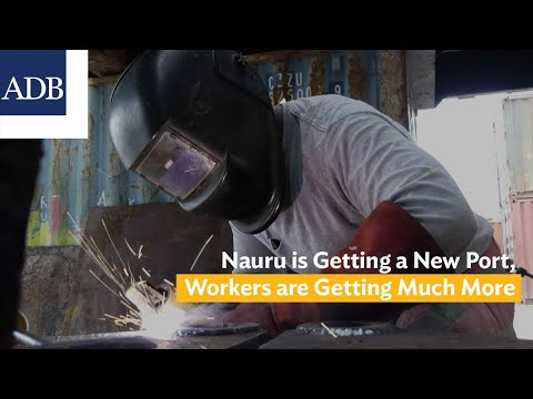 Nauru is Getting a New Port, These Workers are Getting Much More