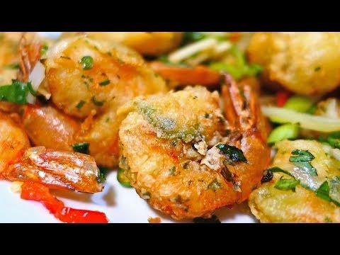 Crispy Pepper Shrimp (Hong Kong Shrimp)