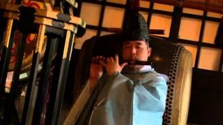 本格神社で厳粛な神前式を