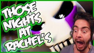 NIGHTMARE MARIONETTE! | Those Nights at Rachel's Gameplay | Five Nights at Freddy's 4 Fan Game