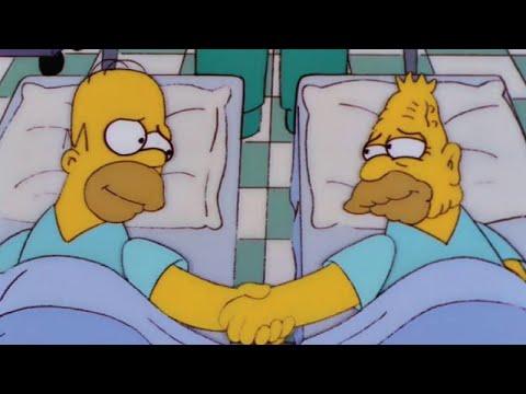 Homer Gives Grampa A Kidney