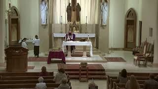 12:15 PM Ash Wednesday Mass at St. Joseph's (2.17.21)