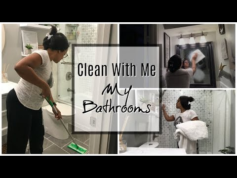 Ultimate Deep Clean Bathroom | Clean With Me | Cleaning Motivation| Bathroom Speed Clean