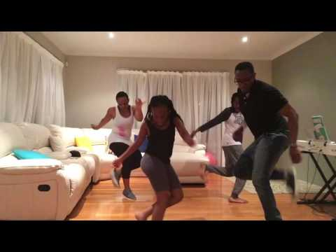 Selepe family - dancing to Sipho Hotstix Mabuse's BURN OUT