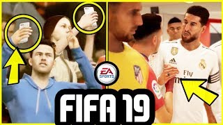 NEW FIFA 19 GAMEPLAY FEATURES CONFIRMED