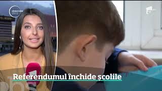 Referendumul pentru familie închide şcolile în Bucureşti