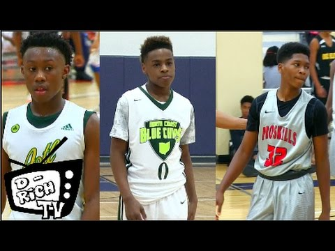 The Nations Best Compete At Lucas All Star Weekend! Bryce Griggs, LeBron James Jr. & More! - 2017