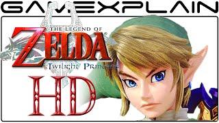 Did Nintendo reveal the Link model for Zelda: Twilight Princess HD?