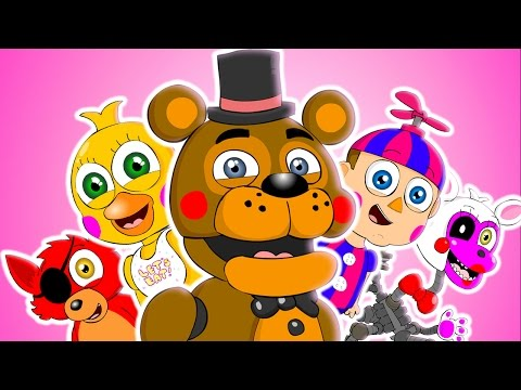 ♪ FIVE NIGHTS AT FREDDYS WORLD THE MUSICAL  FNAF Animation Parody Song