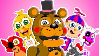 ♪ FÜNF NÄCHTE BEI FREDDY ' S WORLD-DAS MUSICAL - FNAF Animation Parodie-Song