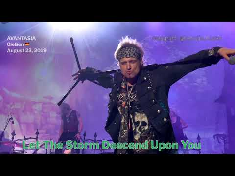 AVANTASIA - Let The Storm Descend Upon You @Giessen, Germany - August 23, 2019 - 4K LIVE