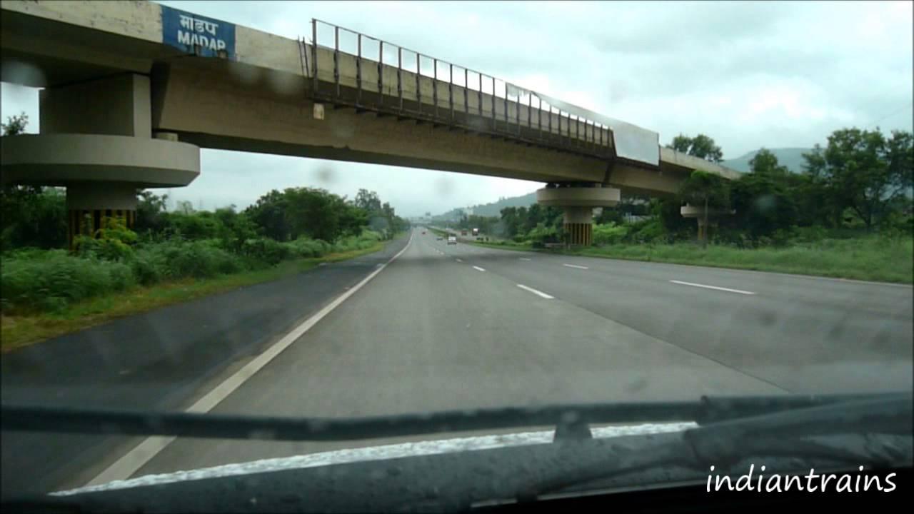 India Travel Mumbai Pune Expressway Express Highway Bombay To Lonavala Car Drive India Youtube