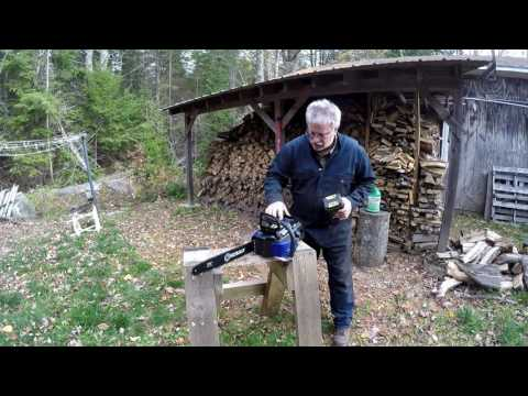 Review of 80V Kobalt Chainsaw