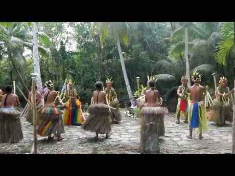 Yap Island, Micronesia Bamboo Stick Dancing