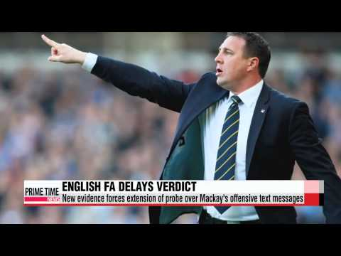 Wigan manager Malky Mackay racism probe extended by English FA   위건 감독 맬키 매케이, 잉