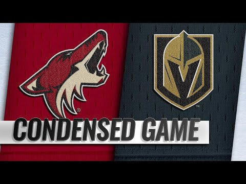 02/12/19 Condensed Game: Coyotes @ Golden Knights