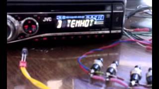 Самодельное управление  для автомагнитолы с руля   Radio control with steering