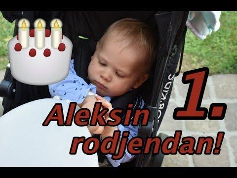 Aleksin prvi rodjendan!
