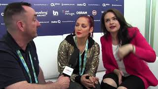ESCKAZ in Lisbon: Interview with Jessika featuring Jenifer Brening (San Marino)