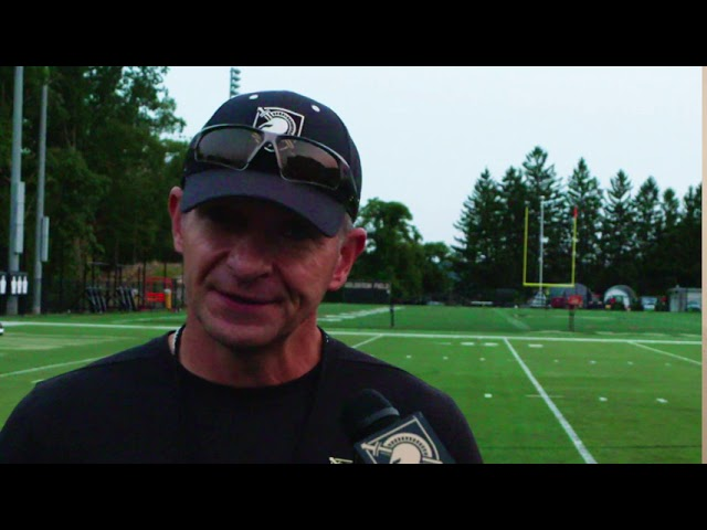 Army Football Practice Report 9-15-2020