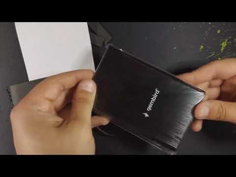 "Внешний карман Gembird для 2.5"" SATA USB Type-C 3.1 Black (EE2-U3S-6)"