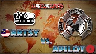 vuclip Artsy VS Apilot ★ Daily Beatbox Battle ★ 11.12.2015