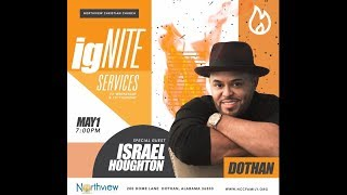 Israel Houghton's Live Concert @ Northview Christian Church ( I Do Not Own Music )