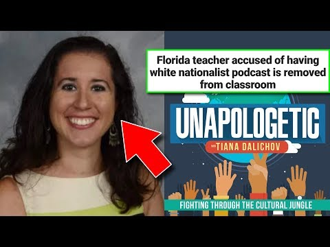 """Teacher Gets Suspended For """"White Nationalist"""" Podcast… But Was It Really? 🤔"""