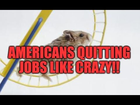 ARE AMERICANS TIRED OF THE DEBT WHEEL? QUITTING JOBS LIKE CRAZY, LOW WAGES, HOME PRICES, RENTS