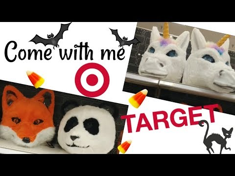LET'S WALK AROUND TARGET!!!!! COSTUMES & MORE