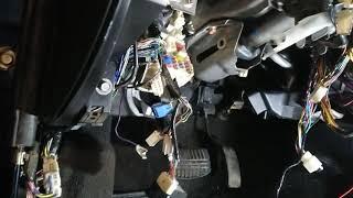 MITSUBISHI PAJERO SPORT Автозапуск и защита стартера от случайного включения