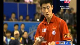 2007 WTTC Final Wang liqin vs Ma lin