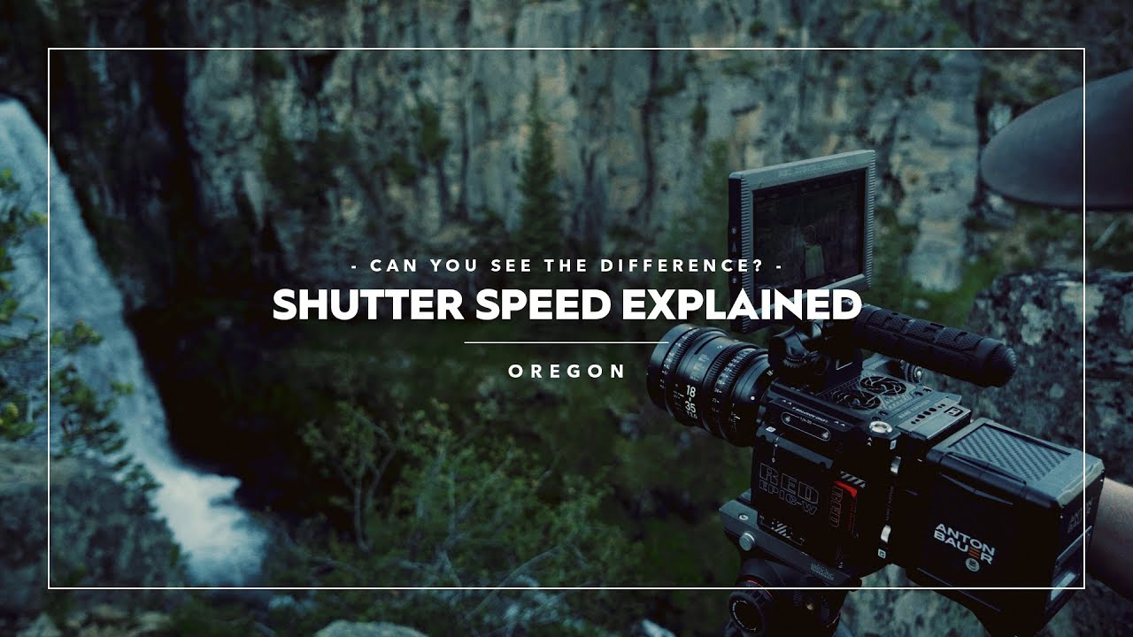 How Shutter Speed Affects Video - The 180 Degree Rule – PolarPro