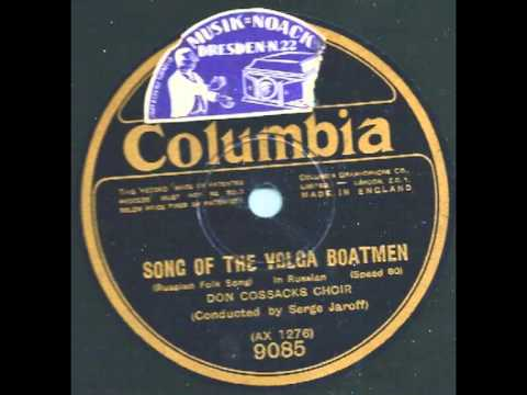 Song of the wolga boatman - Don Cossacks Choir & Serge Jaroff