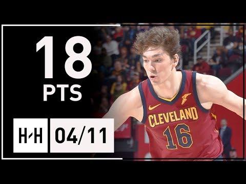 Cedi Osman Full Highlights Cavaliers vs Knicks (2018.04.11) - 18 Points, 7 Reb