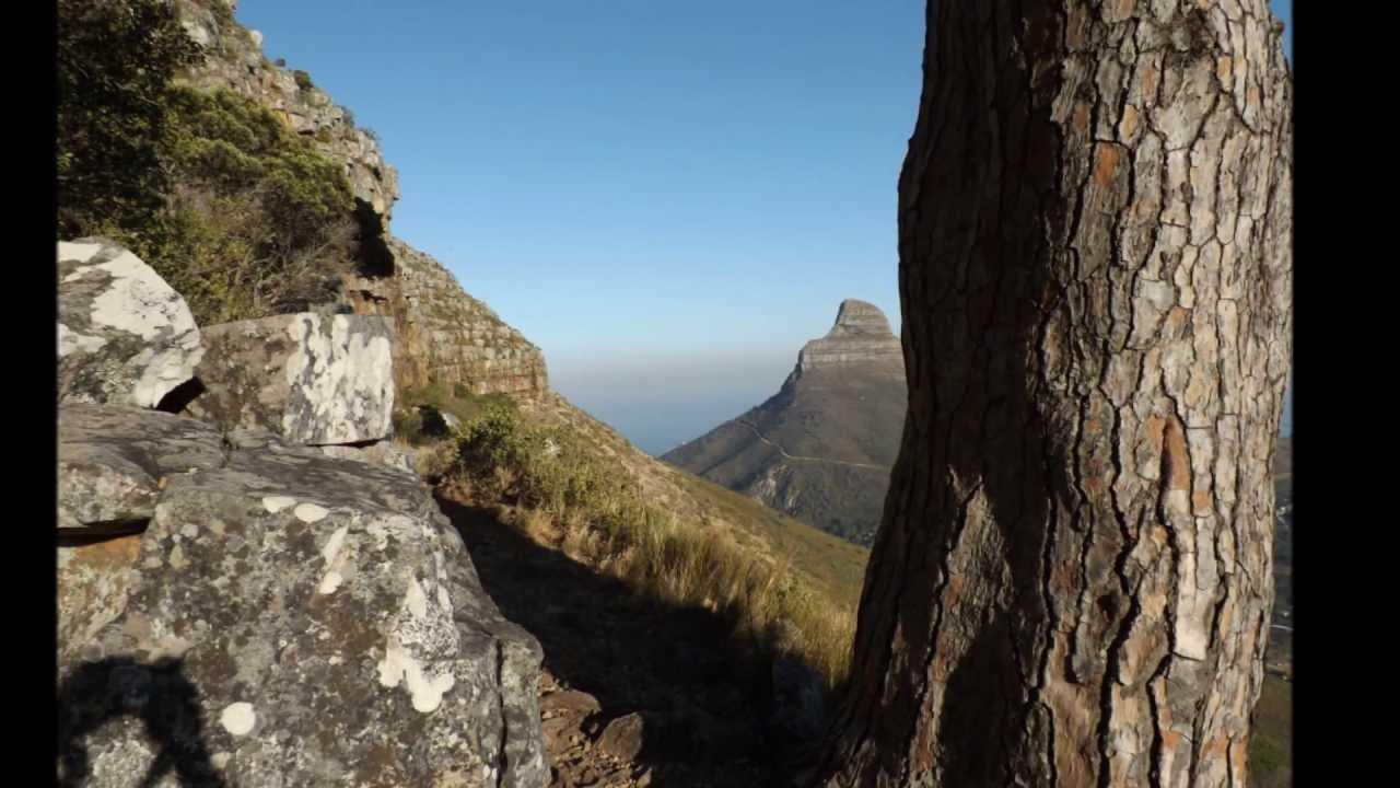 Table Mountain Cape Town South Africa Platteklip Gorge Climb Plasttekpp 112m Abseil