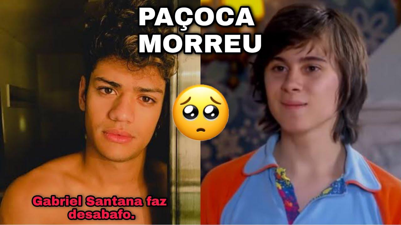 Gabriel Santana faz desabafo sobre morte do ator Rafael Miguel