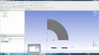 Thick Cylinder Pressure Vessel Static Structural Finite Element Analysis