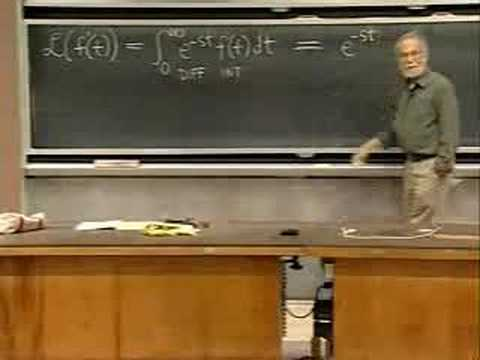 Lec 20 | MIT 18.03 Differential Equations, Spring 2006