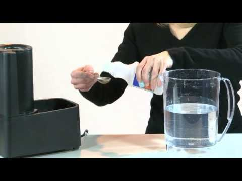 Crane - Warm Mist Humidifier - How To Clean
