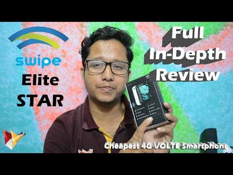 swipe-elite-star-full-indepth-review-|-cheapest-4g-volte-smartphone-|-data-dock